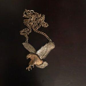 Antique Eagle Necklace